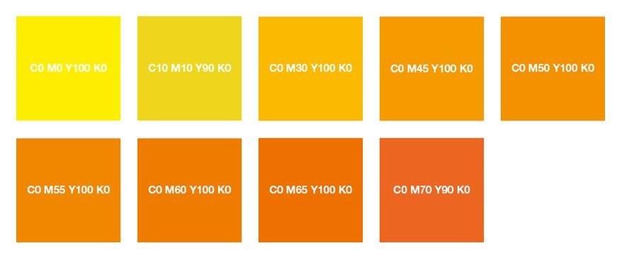 Подбор цвета Типография Онлайн